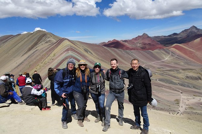 The tour of Ausangate by Vinicunca