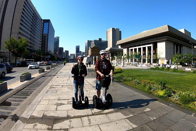 Morning Seoul Highlights Segway Tour