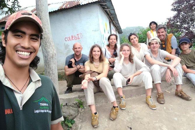 2 days 1 night tour - in Trompito, I meet indigenous community Kogui Uldezhaxa.