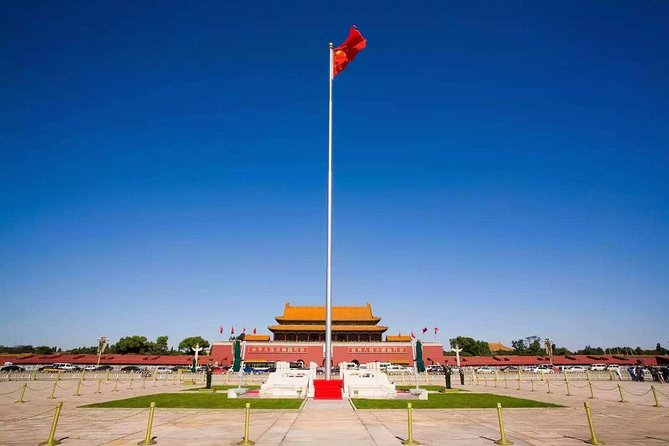 Half day Tiananmen Square, Forbidden city and Jing shan park tour