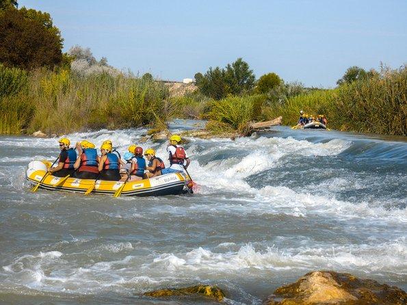 Rafting down the Segura river (Cieza)
