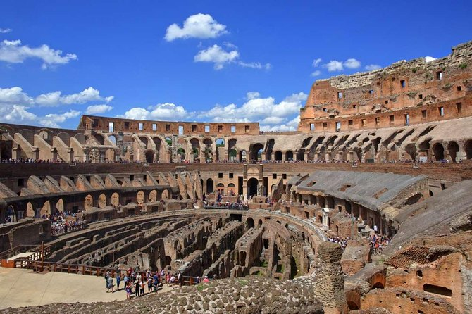 Colosseum Arena Floor Guided Tour & Ancient Rome Access