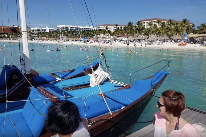 Adults Only Aruba Catalina Bay Small-Group Snorkel Sunset Sail