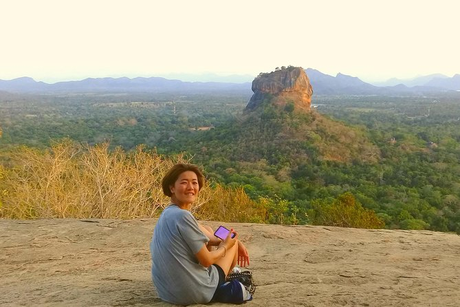 Golden beach Negombo to lion rock sigiriya hiking