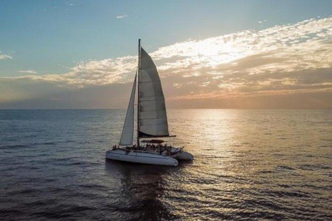 Blue Dolphin Catamaran Snorkeling Sunset Cruise from Tamarindo