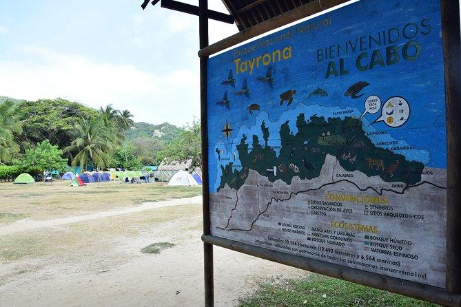 1 day - tayrona park, kogui community and cabo san juan del Guía.
