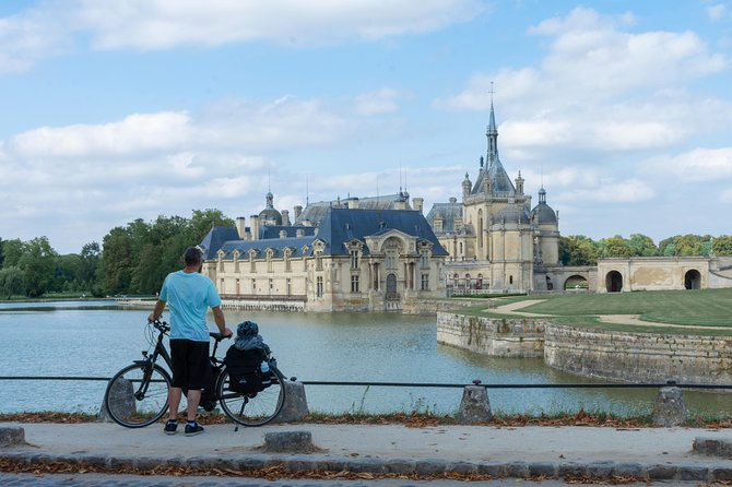 Chantilly by bike or Chantilly with electric bike