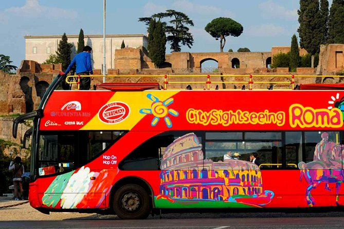 Combo: Colosseum very fast access & 48 Hours Hop-on Hop-Off bus ticket