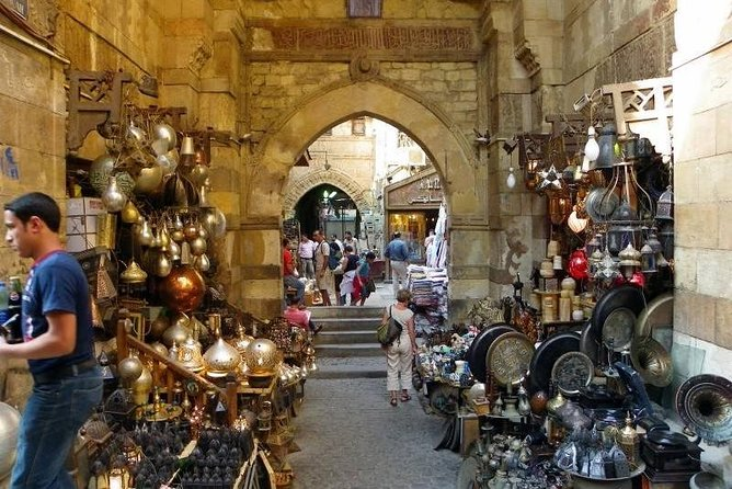 amazing Cairo Full Day Tour To the Egyptian Museum, Old Cairo &bazaar