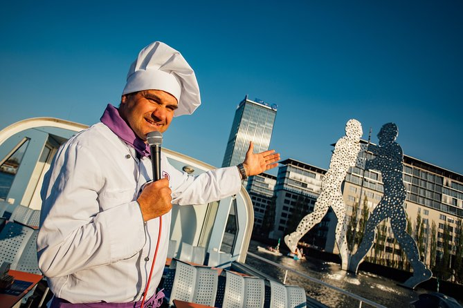 "Dinner Cruise – ""This is the CHEF talking"""