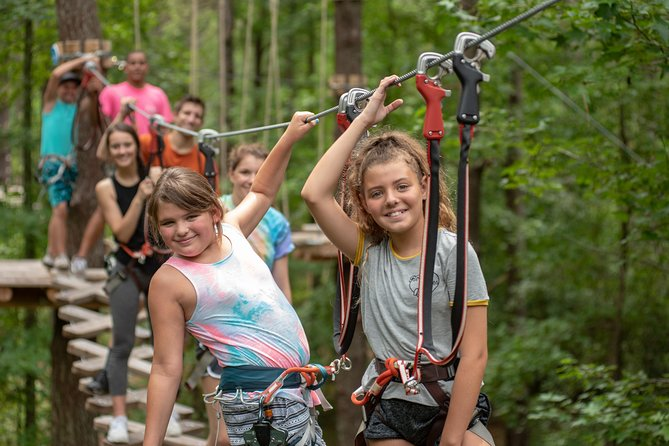 Morning Aerial Adventure Adult Course from Riegelwood