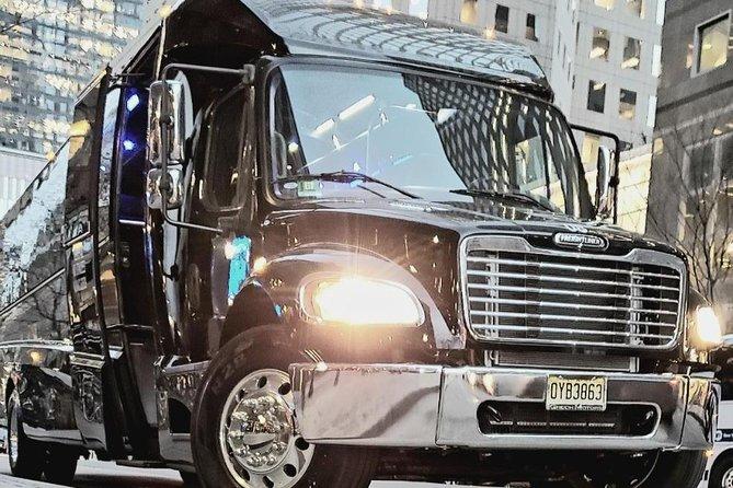 Luxury VIP New York City 4 or 8-Hour Charter via Sprinter, Mini or Coach Bus