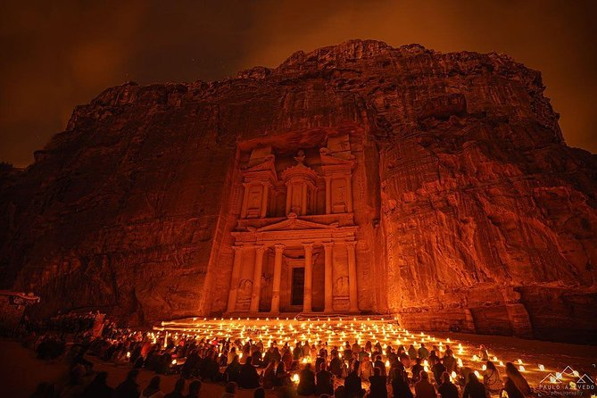 Full Day Private Tour Petra & Petra By Night from Amman