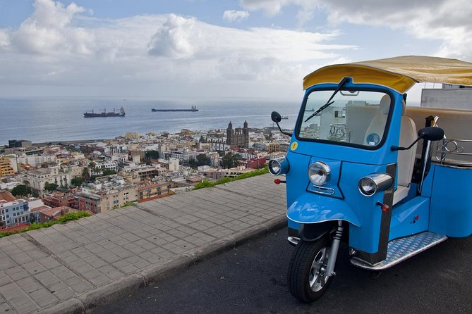 Tuk-Tuk Viewpoints Tour around Las Palmas de Gran Canaria