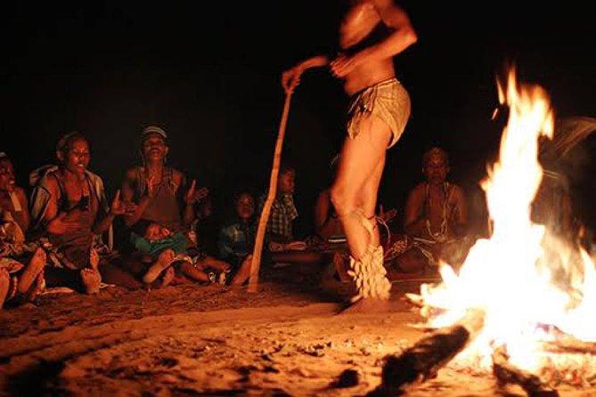 4 Day Desert & Bushmen Trail: Central Kalahari Game Reserve - WildCamping Safari