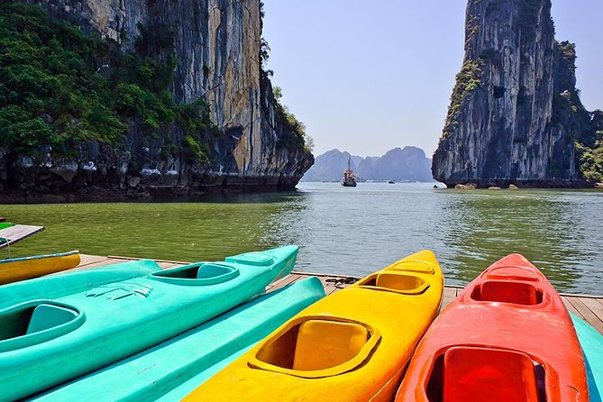 Halong Bay Full Day Tour 3 Options