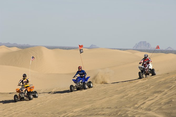 Hurghada Desert Safari - Sunset ATV Trip with Camel Ride and BBQ Meal