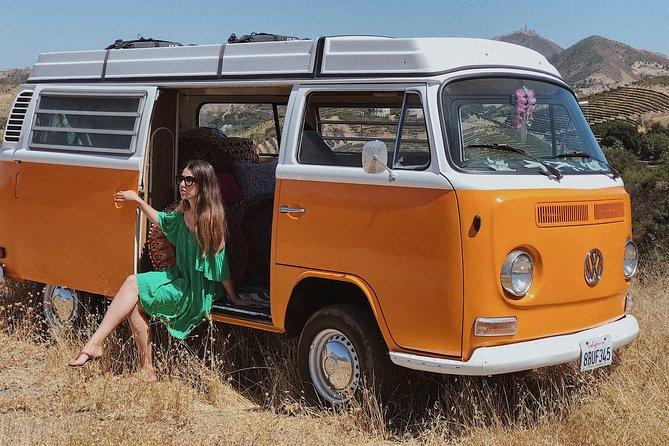 Vintage VW Hippie Tour to Malibu with wine tasting