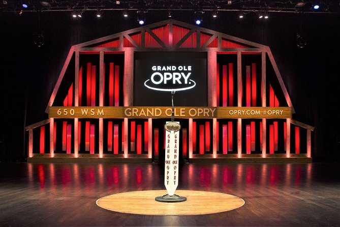 Grand Ole Opry Backstage Tour & Opryland Resort Delta River Flatboat Ride
