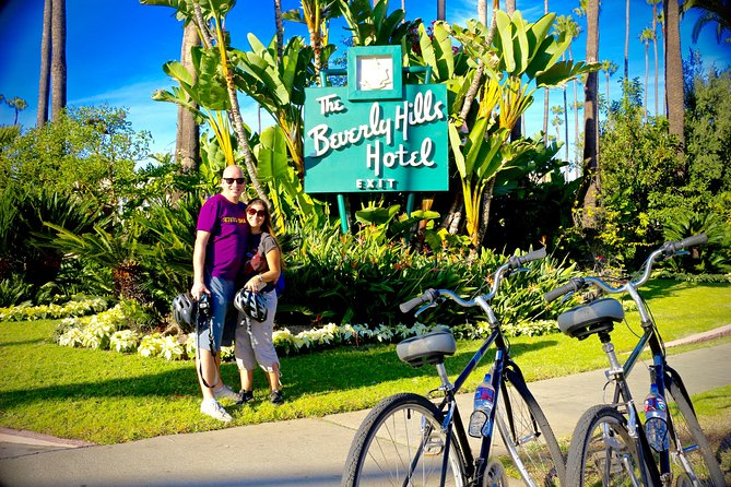 5-Hour Private Hollywood Sign and Beverly Hills Bike Tour