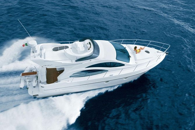 8-Hour Private 42' Azimut Yacht 2Stop Tour to Palancar Beach.Food,Drinks&Snorkel
