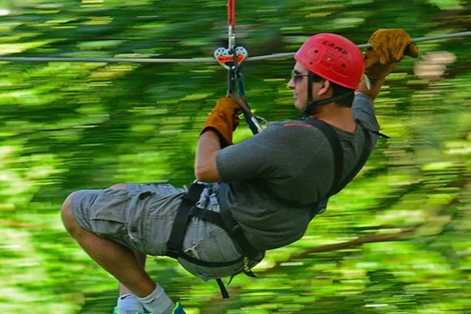Zipline Adventure & Dunns River Falls Plus Shopping from Grand Palladium