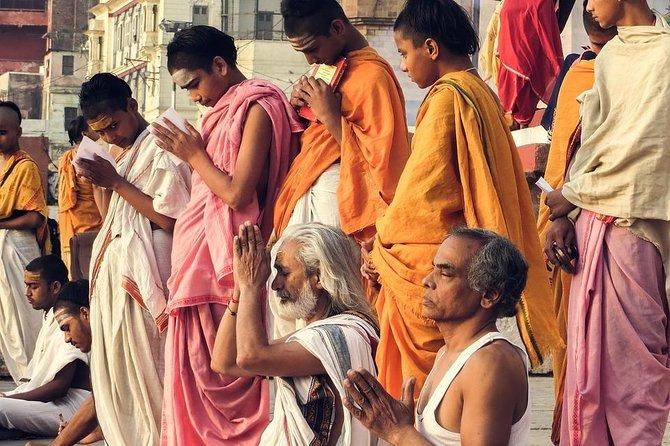 From Varanasi: Temple hopping with transfers