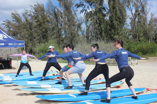 Surf HNL: Small-Group or Private Surfing Lesson (Ko'olina)