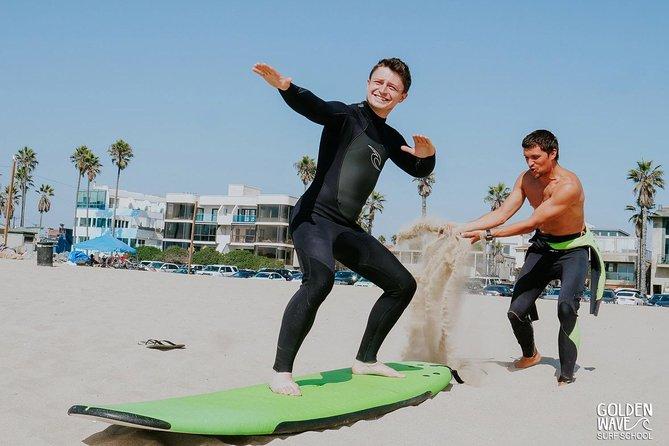 Private SURF LESSON at Venice