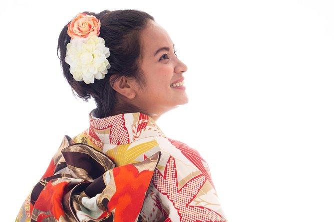 1【SAKURA course】Walking Around in Beppu Wearing Kimono Rental 1 Day