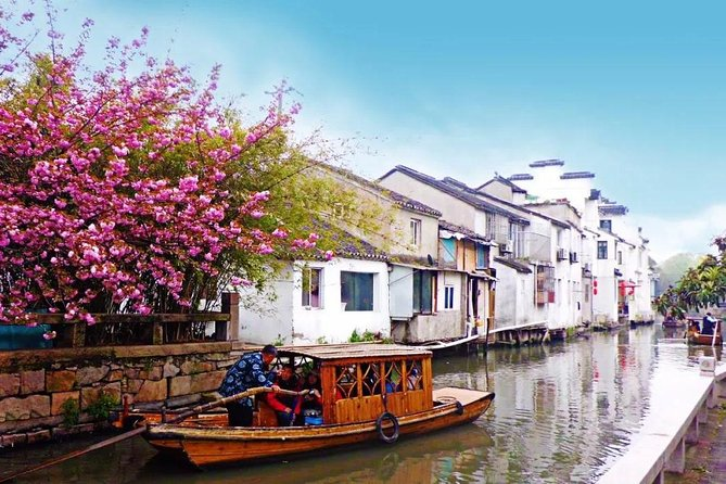 Suzhou Flexible Private Day Tour with Lunch