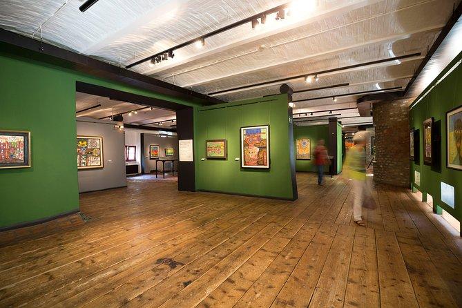 Entrance tickets for the KUNST HAUS WIEN. Museum Hundertwasser