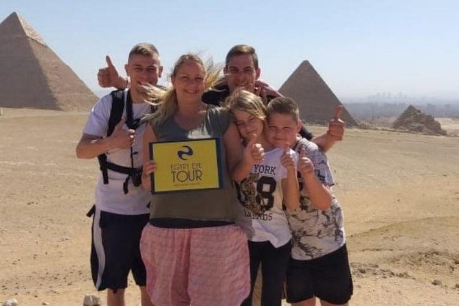 Half day trip to Giza Pyramids with Camel & Lunch