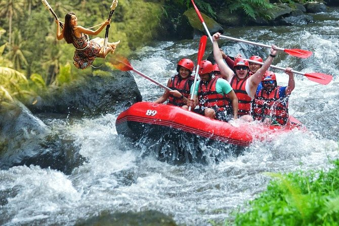 Best Package Rafting, Swing, and Waterfall