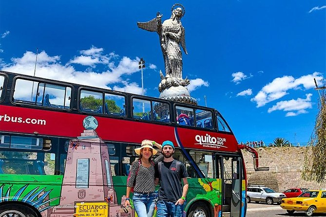 Quito City Tour Double Decker Bus