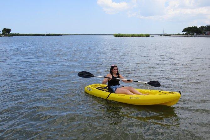 Single Kayak Rental to Explore the backwaters of Rose Bay