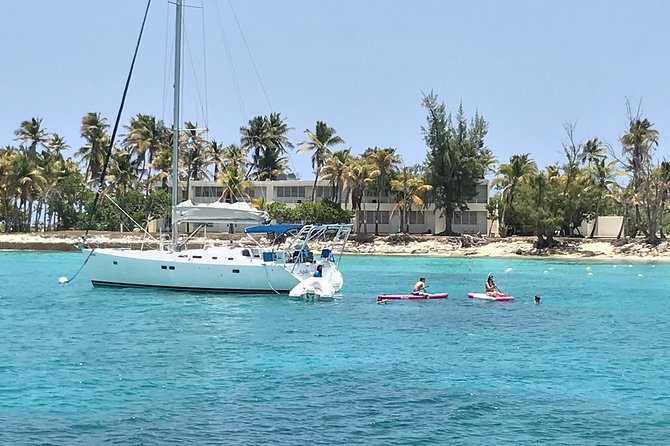 Sailing & Snorkeling-Island Hopping on East Coast of Puerto Rico -Open Bar/Apps