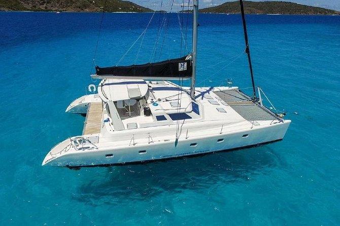50' Luxury Yacht. Private Full or Half Day Catamaran Snorkel, & Beach Experience