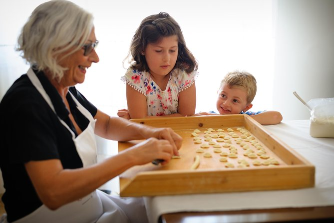 Young Italian Chefs: Kids' Pasta Class at a Cesarina's home in Siena