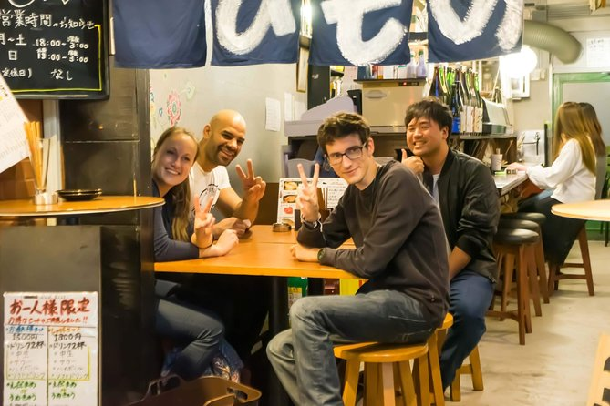 Machi-Nomi Kita-senju (Bar hopping night tour in local haunts)