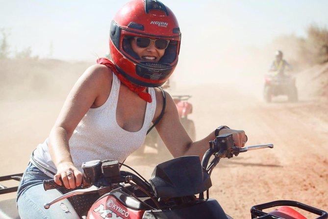 Marrakech Palmeraie Quad Bike Adventure Desert