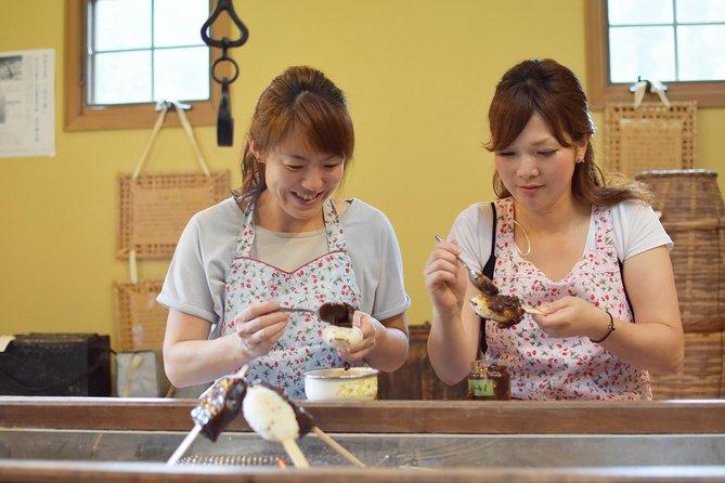 Gohei-mochi making experience