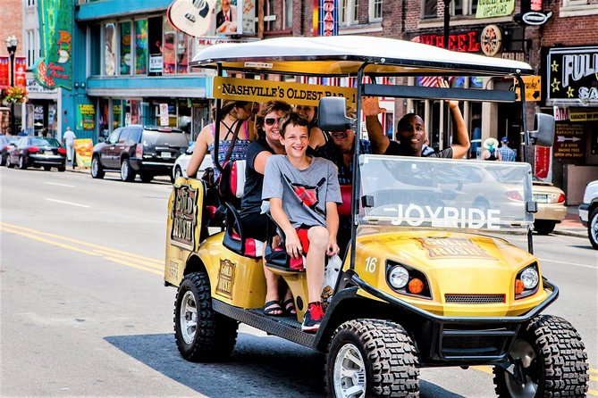 Explore the City of Nashville Tour by Golf Cart