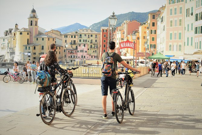 Portofino Camogli E-Bike self guided tour