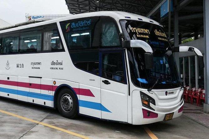 Bus from Ayutthaya to Chiangmai