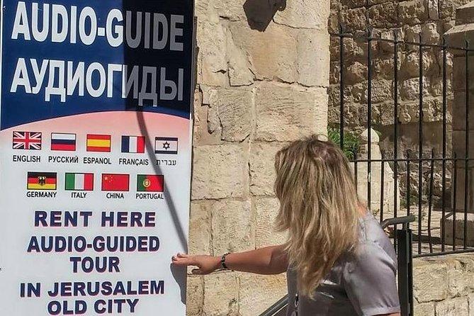 9 Languages Audio Guide For Jerusalem Old City