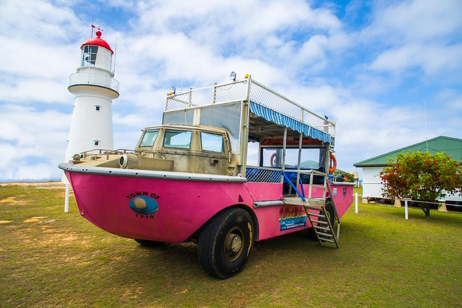 Full-Day 1770 Tour by LARC Amphibious Vehicle Including Sandboarding and Bustard Head Lightstation