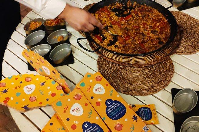 Spain's fun paella experience