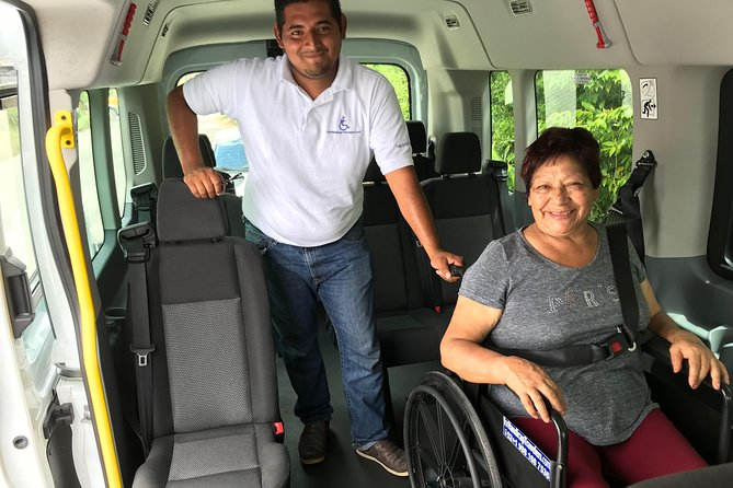 Adapted Transportation from Cancun Airport to Hotels in Playa del Carmen