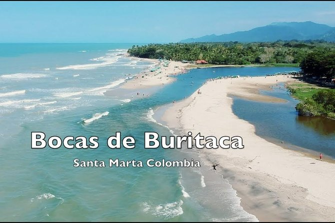 Buritaca, La Union Del Rio With The Sea